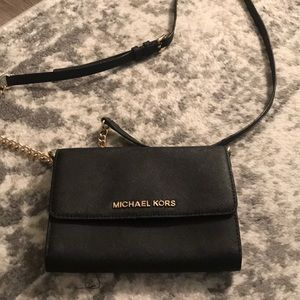 michael kors crossbody with chain